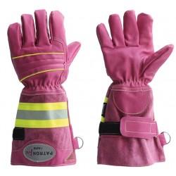 Zásahové rukavice ASKÖ PATRON FIRE ružové