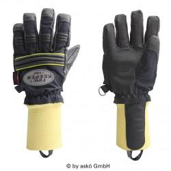 Zásahové rukavice FIRE KEEPER, pletená manžeta